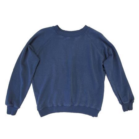 Jungmaven bonfire raglan sweatshirt - navy