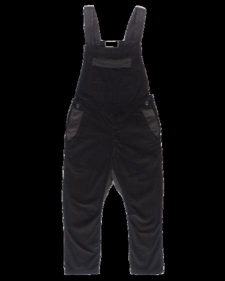 SEEKER Corduroy Overall - Black