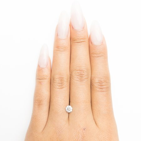 Misfit Diamonds Round Brilliant - Fancy Grey