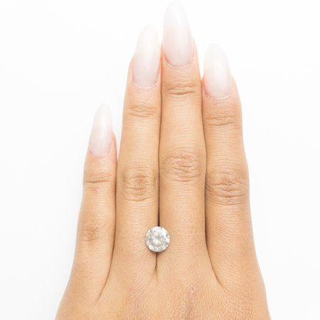 Misfit Diamonds Round Brilliant - Light Grey Salt