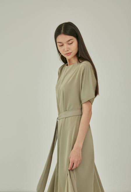 NKC Long Green Shift Dress - Green