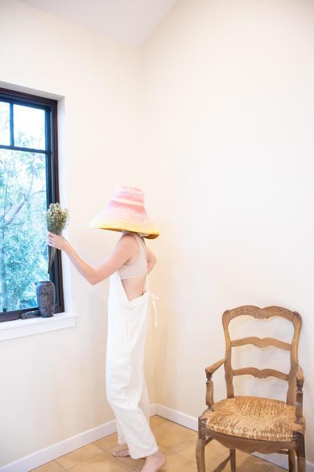 Romualda Fuego Grande Hat - Yellow
