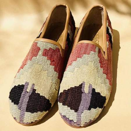 Ocelot Market Turkish Kilim Loafer