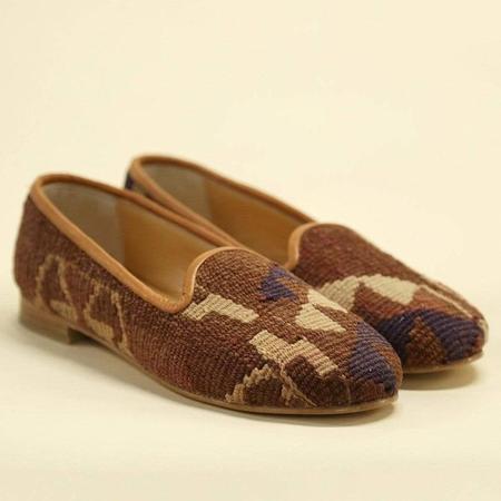 Ocelot Market Women's Turkish Kilim Loafer