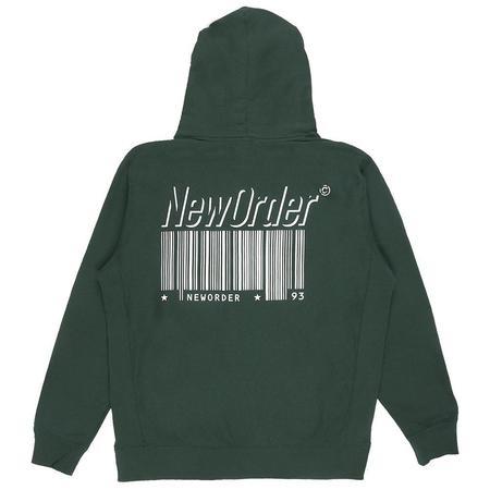 PLEASURES Republic Premium Hoody SWEATER - Green