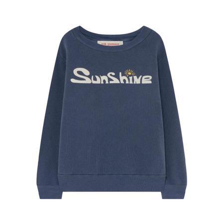 kids the animals observatory bear sweatshirt - deep blue sunshine