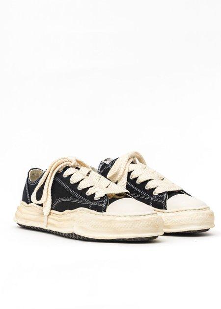 Mihara Yasuhiro Original Sole Overdyed Lowcut Sneaker - Black