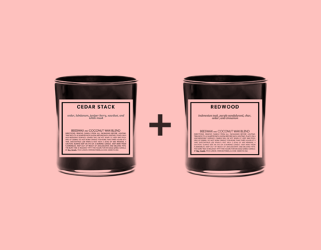 Boy Smells WOODSMEN / SCENTED CANDLES