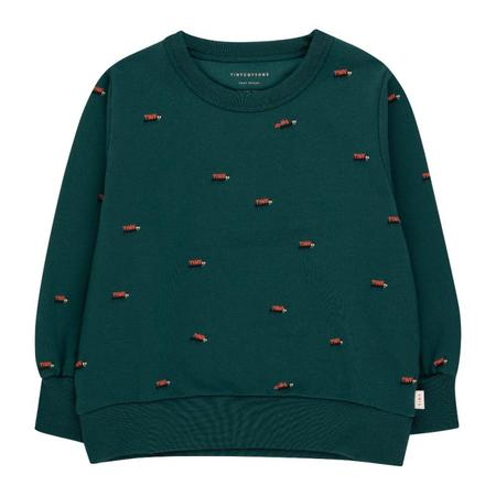 kids tinycottons ants sweatshirt - stormy blue/ink blue