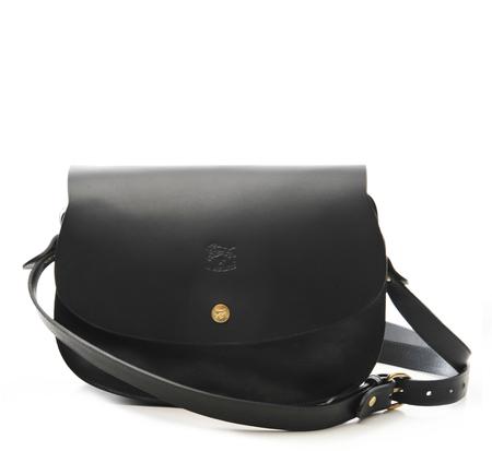 Il Bisonte Black A2579 Crossbody Bag