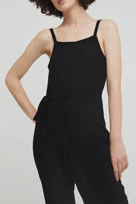 WOLF & GYPSY VINTAGE Rita Row Lina Jumpsuit - black