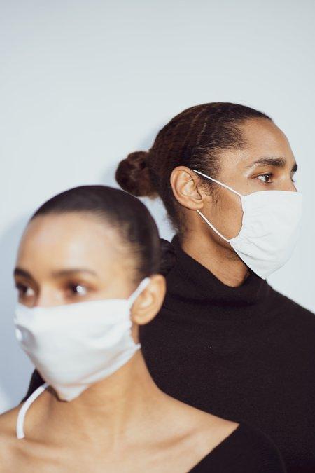 KES Peace Natural Bundle Face Covering - White