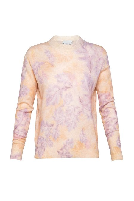 Forte Forte Printed Roundneck Sweater - Lilac