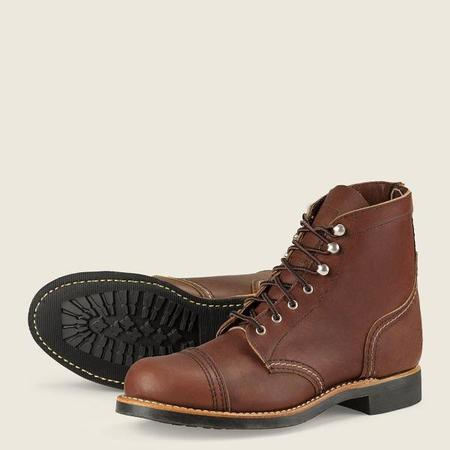 Red Wing Shoes #3365 Iron Ranger boots - Amber