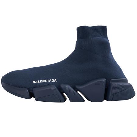 Balenciaga Speed 2.0 Sneaker - Navy Blue