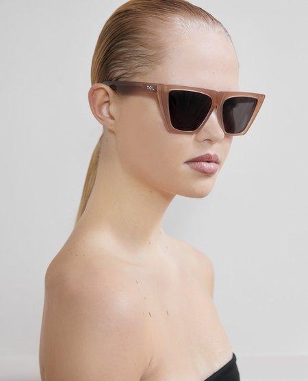 Tol Trapezium Grande Sunglasses - Almond