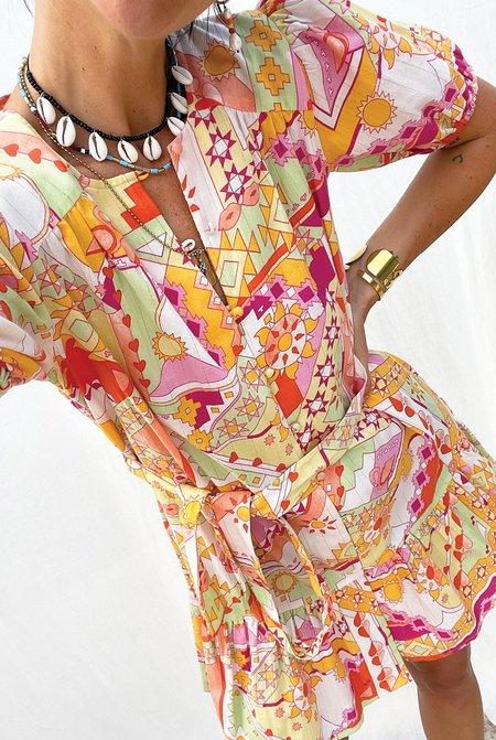 NEVER FULLY DRESSED Lola Dress - Multi