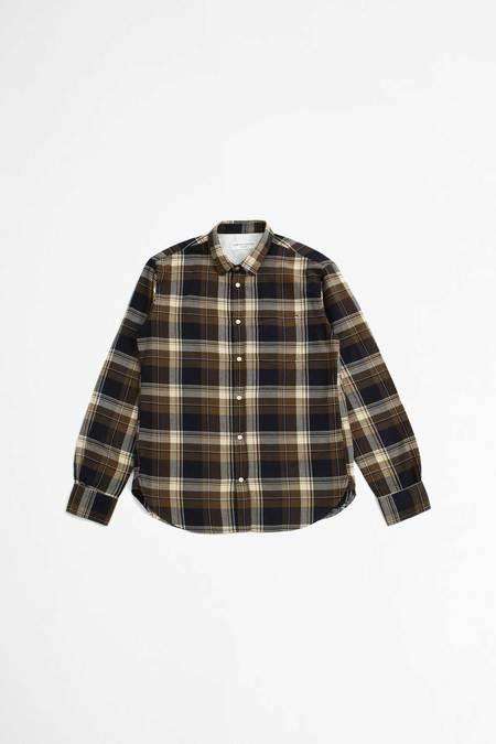 Officine Generale Lipp  Japanese Cotton Shirt