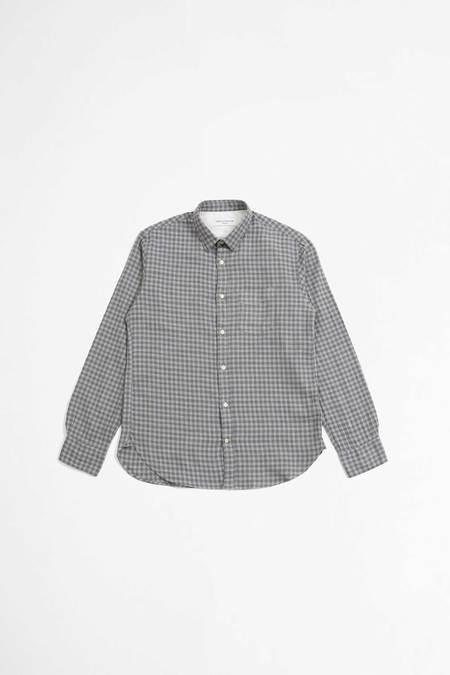 Officine Generale Lipp Shirt - Mid Grey/Grey