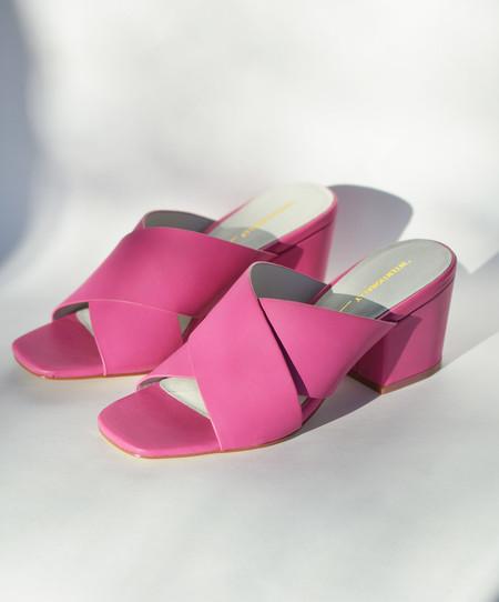 Intentionally Blank Fuschia Hunter Heel