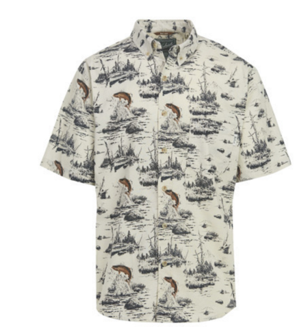 Woolrich Walnut Run Short Sleeve