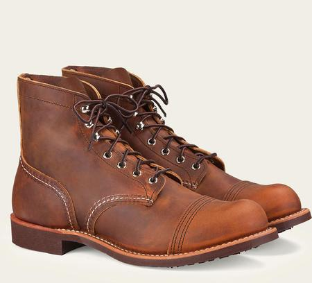Red Wing Shoes #8085 Iron Ranger Boot - Copper