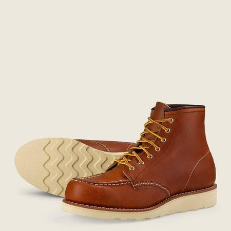 Red Wing Shoes #3375 6-Inch Classic Moc Women's Short Boot - ORO Legacy Leather