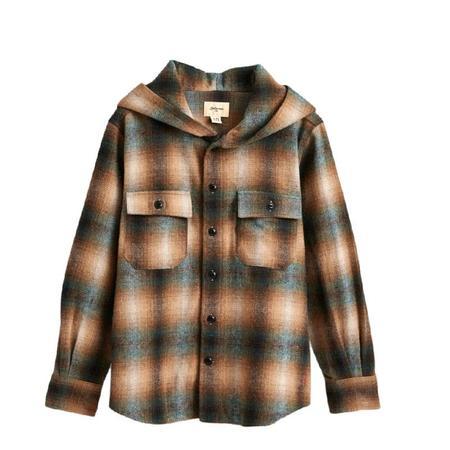 Kids Bellerose Gibson Shirt - Check