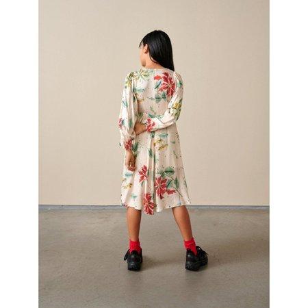 Kids Bellerose Peach Dress - Floral