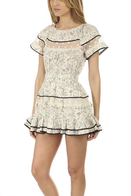 Women's LoveShackFancy Karen Dress - Sweet Cream