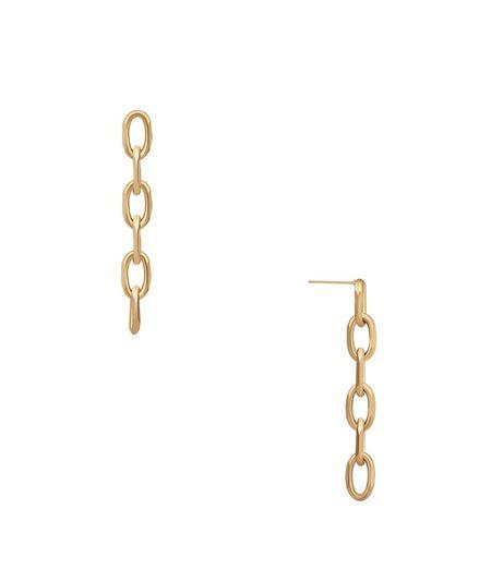 Ellie Vail Jewelry Maddox Drop Chain Earring