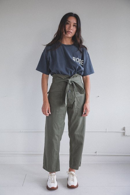 As Ever TIE TANKER PANT - OLIVE