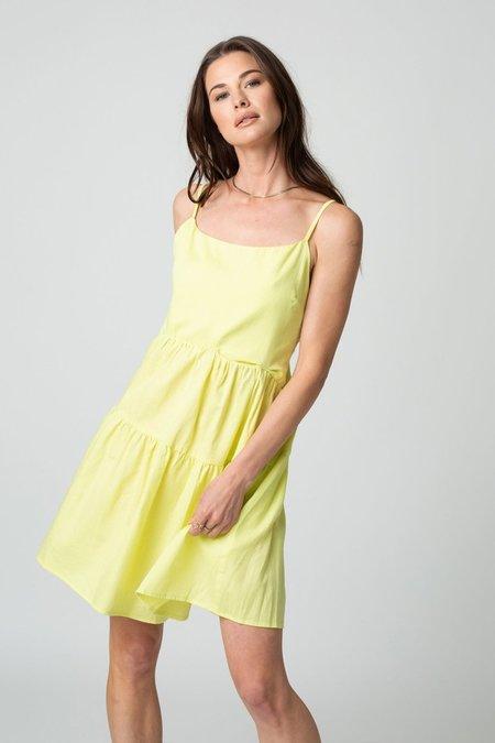 Stillwater Memz Mini Dress - Citron