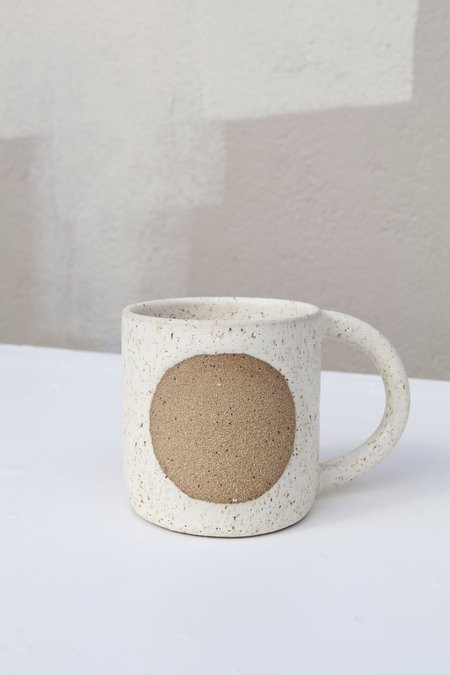 Easy to Breathe Moon Mug - Matte White