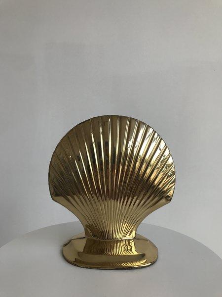 Ri-Ri-Ku SEASHELL BOOKENDS - GOLD