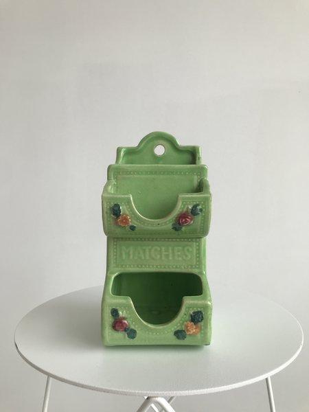 Ri-Ri-Ku VINTAGE MATCH HOLDER - Green