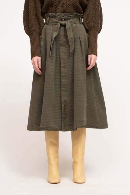 Sea NY Layla Canvas Skirt - Army