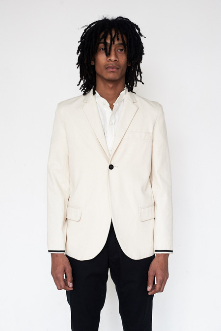 Assembly New York Cotton Twill Traditional Blazer