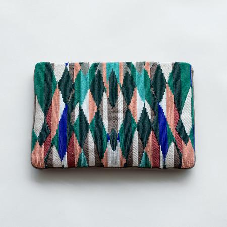 Megan Park Zahara Embroidered Clutch