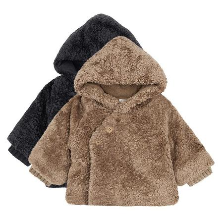 Kids 1+ In The Family Baby And Child Flora Faux Fur Coat