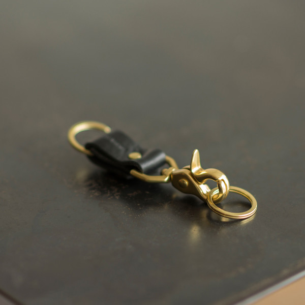 Sylvan Park Short Snap Keychain