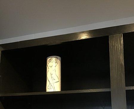 Meadows Kana vase - gold paint