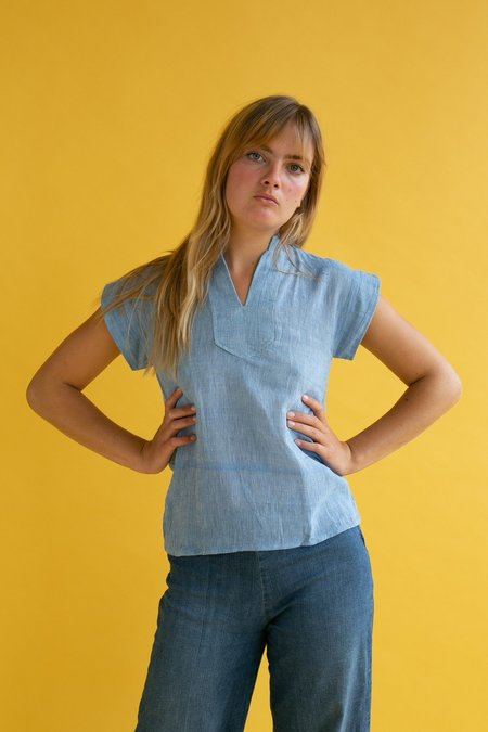 Vintage 1970s Cheese Cloth Top