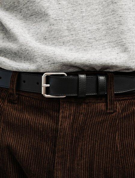 Comme des Garçons Classic Leather Belt - Black