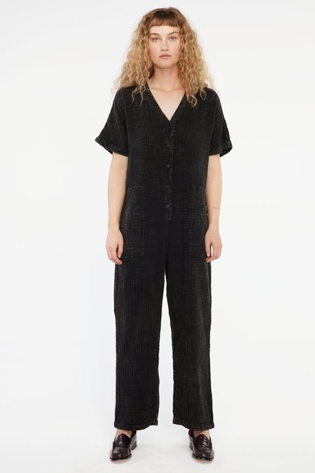 Lacausa Marley Jumpsuit - Black Mineral Wash