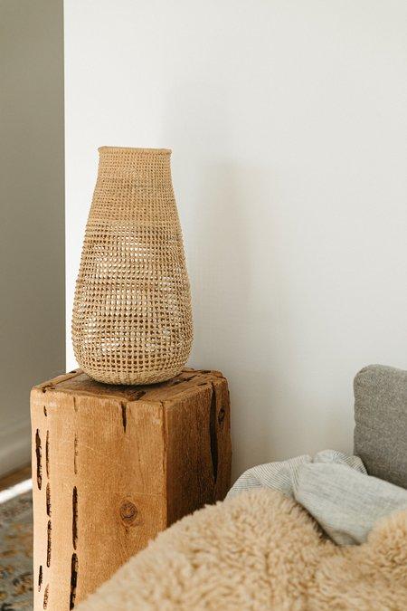 Territory Jarron Vase - Natural