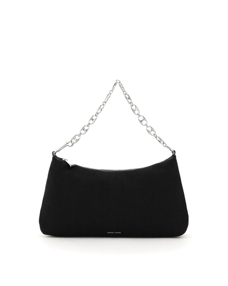 Danse Lente Misty Leather Bag - Black