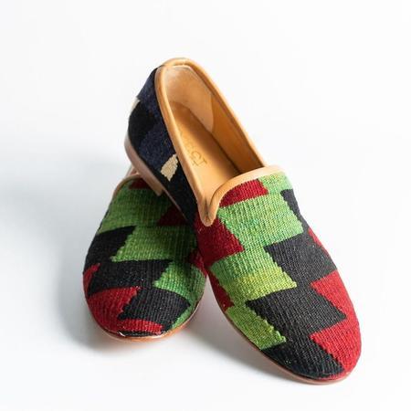 Ocelot Market Men's Turkish Kilim Loafer - multi