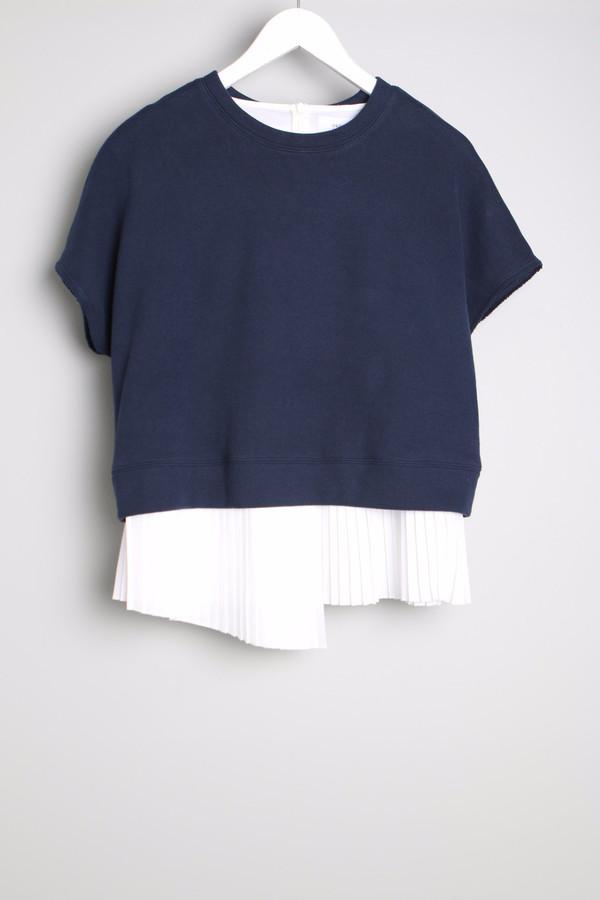 10 Crosby Sweatshirt With Pleats