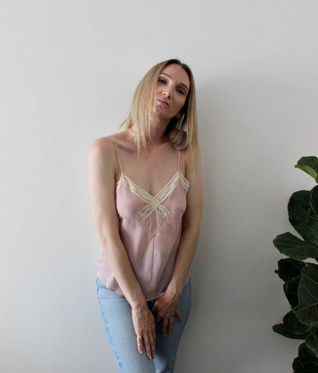 Vintage Camisole Top - Sheer Blush